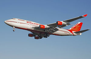 Air India Boeing 747-400. Founded by J. R. D. ...