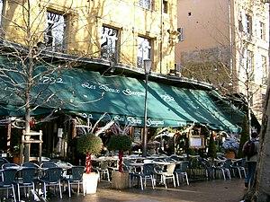 Aix-en-Provence - Les Deux Garçons.