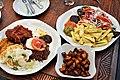 Akan Ghanaian Waakye, Kelewele & Fried Yaw.jpg