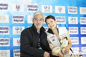 Hiroshi Nagakubo - Nagakubo alongside Akiko Suzuki, 2010.