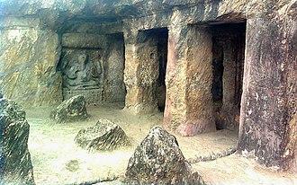 Akkana Madanna Caves - Image: Akkanna Madanna Rock cut Caves, Vijayawada city