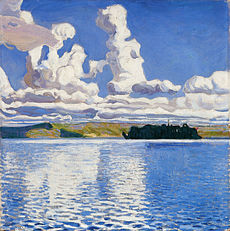 Akseli Gallen-Kallela - Pilvi tornit (1904)