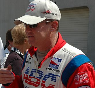 Al Unser Jr. - Unser before the 2007 Indianapolis 500