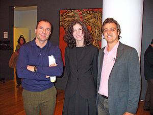 Megan McArdle - Alan Miller, McArdle and Christopher Hayes at a NY Salon discussion