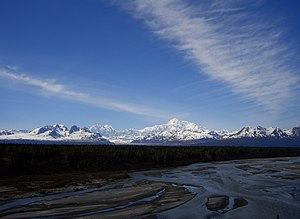 Alaska Range -  View from Denali State Park