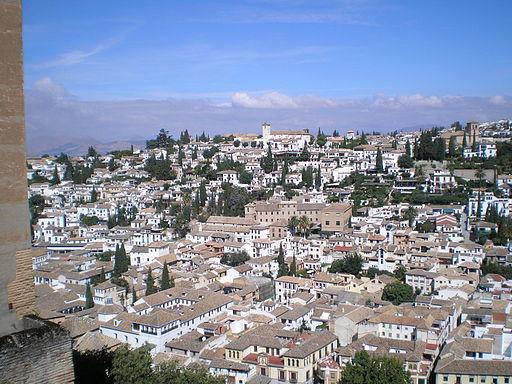 Albaicin desde la Alhambra