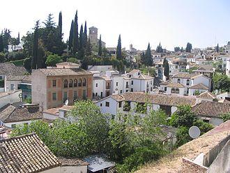 Albaicín - Image: Albaicin granada