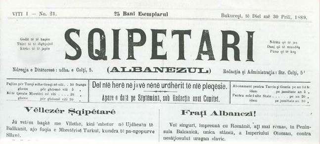 Albanezul-1889