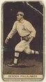 Albert (Chief) Bender, Philadelphia Athletics, baseball card portrait LCCN2008678380.tif