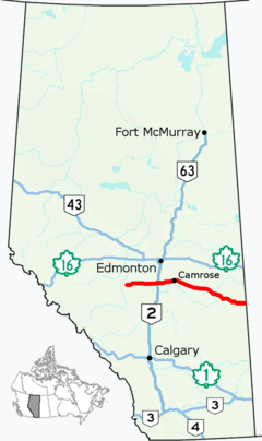 Alberta Highway 13 Map.png