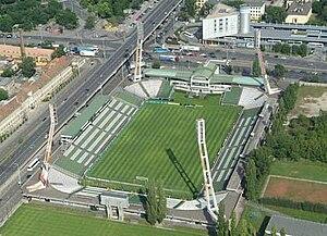 Stadion Albert Flórián - Image: Albertflorianstadion civertanlegi