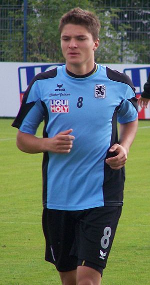 Aleksandar Ignjovski - Ignjovski at practice with 1860 München in 2009.