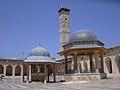 Aleppo (Halab), Omayadenmoschee, 11. Jhdt., Innenhof (37819076715).jpg