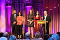 Alex Gibney and the crew of Mr. Dynamite at the 74th Annual Peabody Awards.jpg