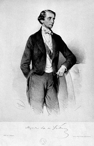 Count Joseph Alexander Hübner - Alexander Graf Hübner, 1859