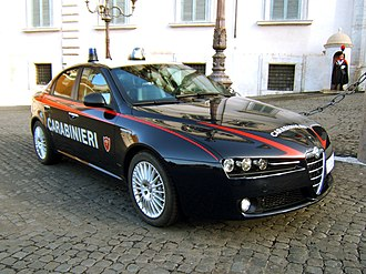 Carabinieri - Alfa Romeo 159