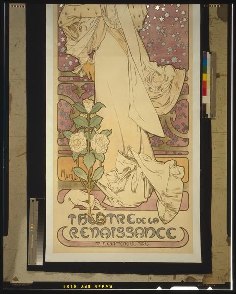 File:Alfons Mucha - 1896 - La Dame aux Camélias - Sarah Bernhardt - Original Scan 2.tiff