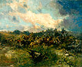 Alfred Theodore Joseph Bastien - Cavalry and Tanks at Arras.jpg