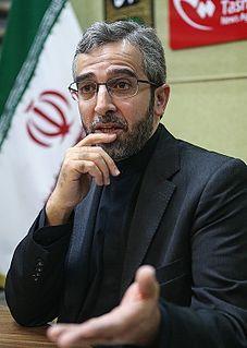 Ali Bagheri Iranian diplomat