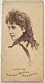 Alice Lee, from the Actors and Actresses series (N45, Type 1) for Virginia Brights Cigarettes MET DP829786.jpg