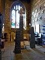 All Saints Church, Ilkley, Ilkley crosses (geograph 2073316).jpg