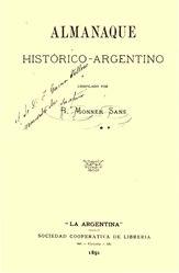 Ricardo José Vicente Monner Sans: Almanaque historico argentino