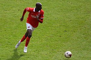 Alou Diarra - Alou Diarra in action for Charlton