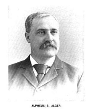 Alpheus B. Alger - Image: Alpehus B. Alger