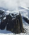 Alpine rock spires, Ruth Gorge; Denali National Park, Alaska LCCN2010630865.tif