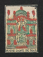 Altar with the image of Our Lady of Halle (r7)