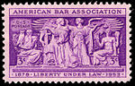 American Bar Association 3c 1953 issue U.S. stamp.jpg