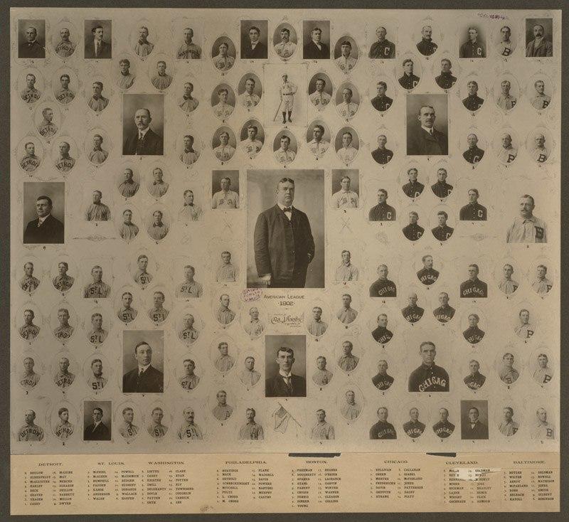 American League Teams, 1902