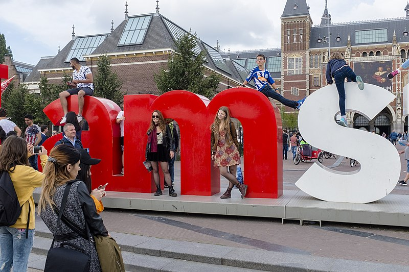 Количество ночевок, проведенных туристами в Амстердаме, выросло на 12,5%