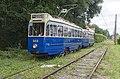 Amsterdam Museum Tram 533 op eigen tramlijn naar Bovenkerk (28674219843).jpg