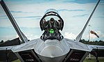 An F-22 Raptor from the 95th Fighter Squadron at Ämari Air Base, Estonia, Sept. 4, 2015.jpg