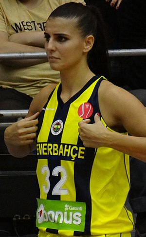 Ana Dabović Fenerbahçe Women's Basketball vs BC Nadezhda Orenburg EuroLeague Women 20171011.jpg