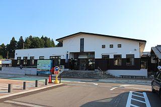 Anamizu Station Railway station in Anamizu, Ishikawa Prefecture, Japan