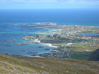 Andøy Municipality in Nordland, Norway