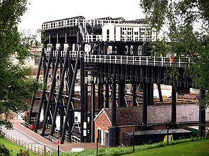 Edwin Clark (civil engineer) - Edwin Clark's best known achievement in the UK, the Anderton Boat Lift