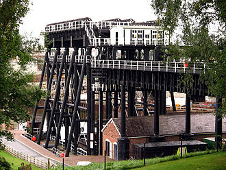 Anderton Boat Lift - Image: Anderton Boat Lift 2