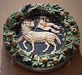 Andrea della robbia, tondo con l'agnus dei dell'arte della lana, 1475-1500 ca.JPG