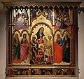 Andrea di giusto, adorazione dei magi e santi, da s. andrea a ripalta, 1436, 01.jpg