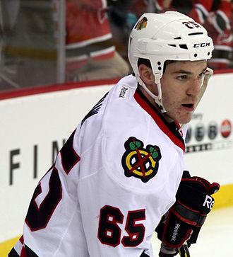 Andrew Shaw (ice hockey) - Shaw with the Chicago Blackhawks in December 2014