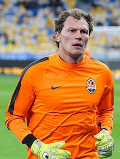Andriy Pyatov Ukrainian footballer