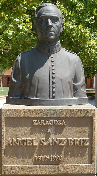 Ángel Sanz Briz - Memorial, Zaragoza, Spain
