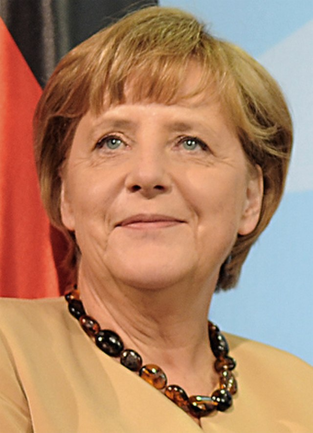 From commons.wikimedia.org: Angela Merkel {MID-137933}