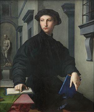 Portrait of Ugolino Martelli - Portrait of Ugolino Martelli