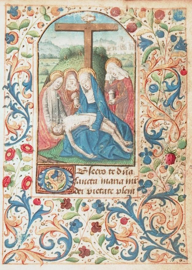 Angers Book of Hours (folio 13r)