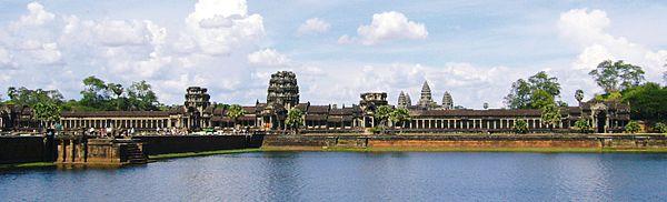 カンボジアの世界遺産「アンコール・ワット」