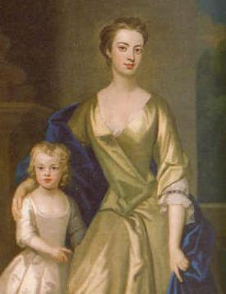 Diana Russell, Duchess of Bedford - Lady Sunderland and Lady Diana, by Sir Godfrey Kneller